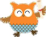 Owl diploma x150